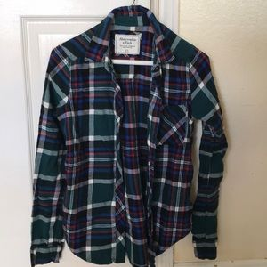 Abercrombie & Fitch XS Flannel